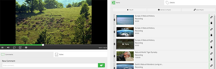 Planet eStream - Create your own 'YouTube' style web based